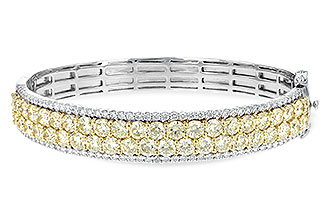 G234-57932: BANGLE 8.17 YELLOW DIA 9.64 TW